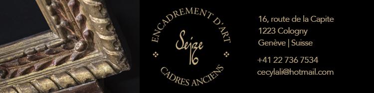 Encadrement d'art Seize, route de la Capite 16, 1223 Cologny - Genève