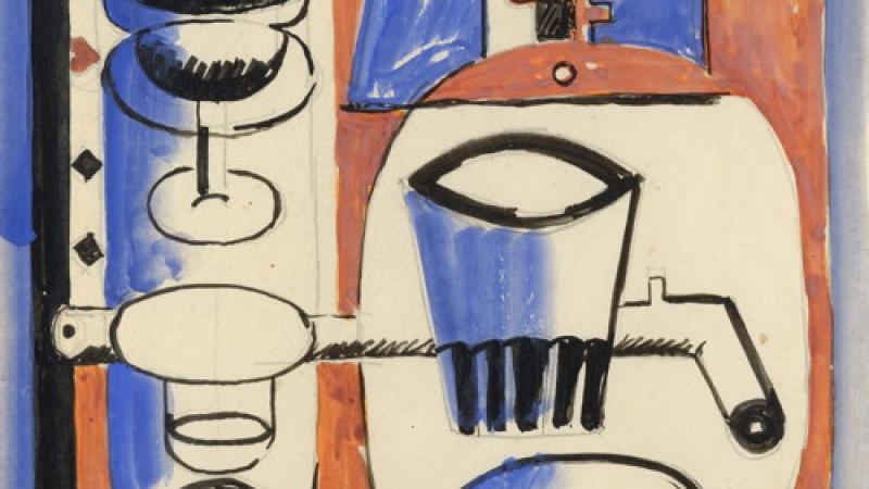 Le Corbusier, Nature morte puriste, 1928 (détail)