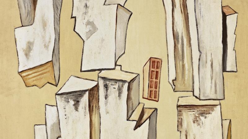 Magnelli, Pierres n°1 (inv. 399), 1933 (détail)