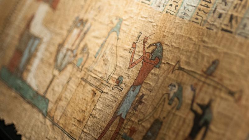 Livre des Morts d'Hor, Thèbes,-IVe s. BODMER