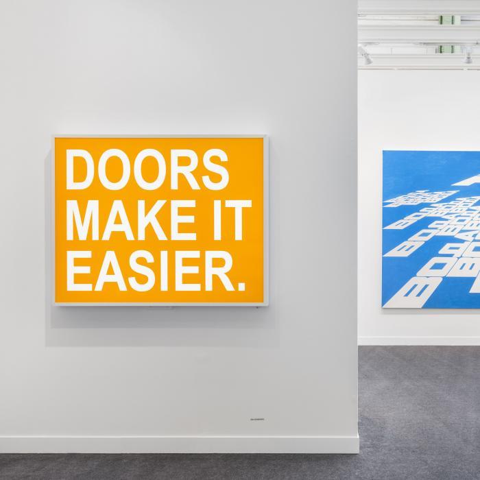 Alex Hanimann,Sans titre (Doors), 2018