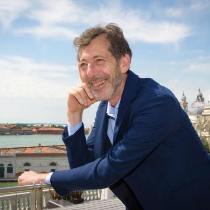 Ralph Rugoff, le commissaire de l'édition actuelle.  ©Andrea Avezzu, Biennale de Venise 2019.