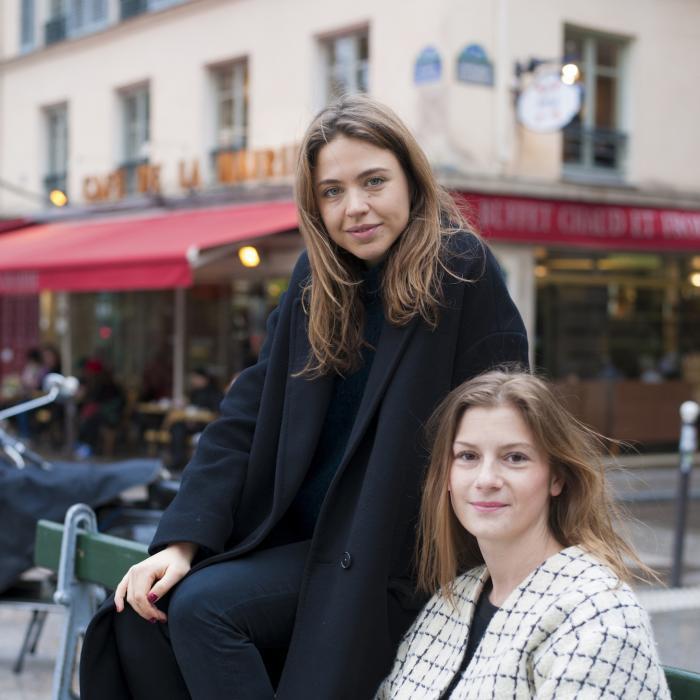 Emily Marant et Alice Gotheil