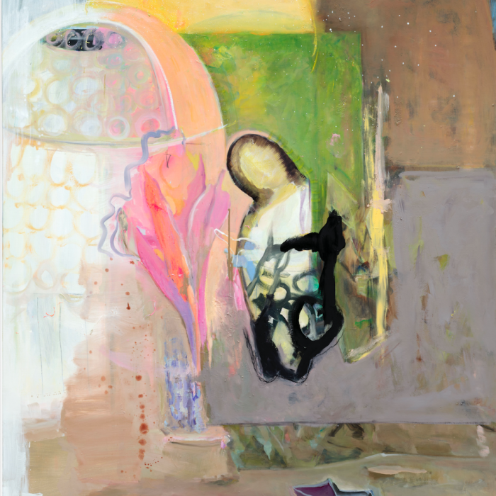 Valérie Favre, La vie devant soi 2, Huile sur toile, 170x130 cm, 2020
