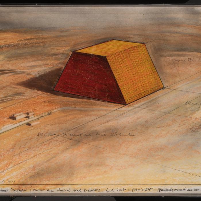 Christo, Abu Dhabi Mastaba, Simon Studer Art