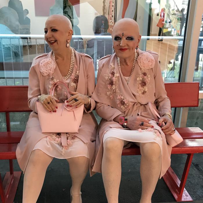 EVA & ADELE, Art Basel, 2018. Photo V. Karamaounas