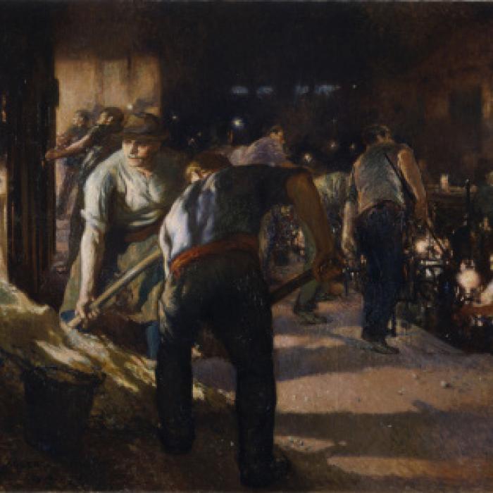 Jules Adler, Les Enfourneurs, 1910, Musée de Cognac © ADAGP, Paris 2018