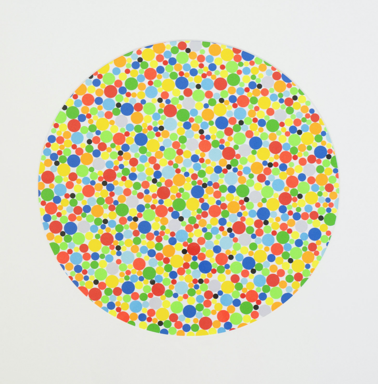 LIONEL ESTEVE Migraines, 2010 Coloured pastilles on paper 60 x 60 cm (23.6 x 23.6 inch) Edition of 14 / 15 Signed with edition number, Estimate: $2,350 - $2,700